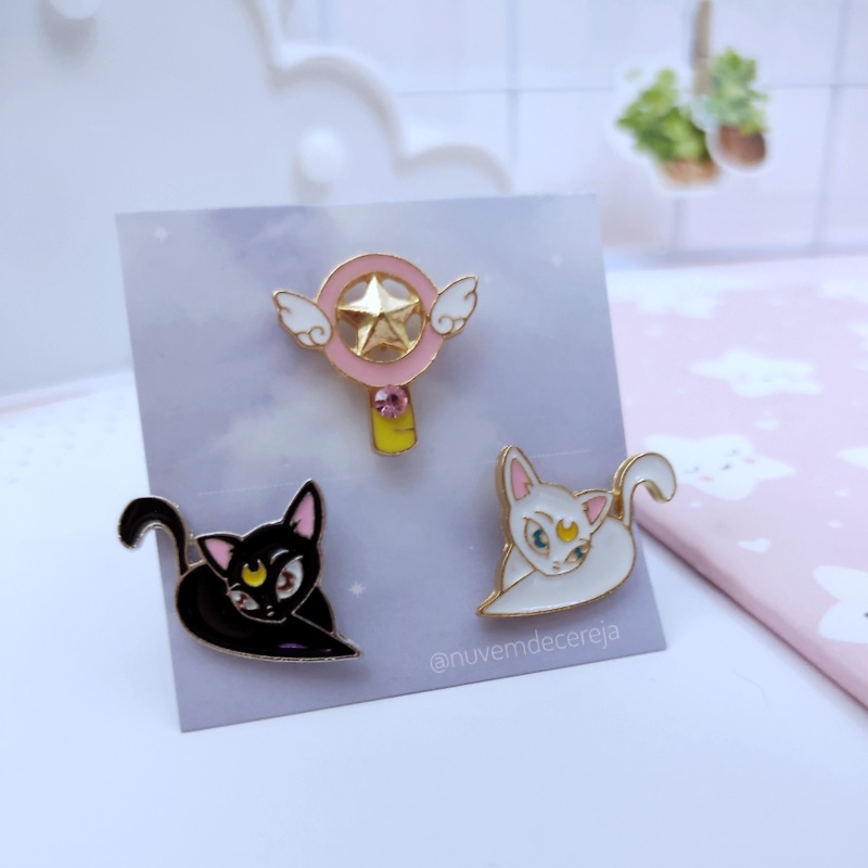 Pin Sailor  - Nuvem de Cereja