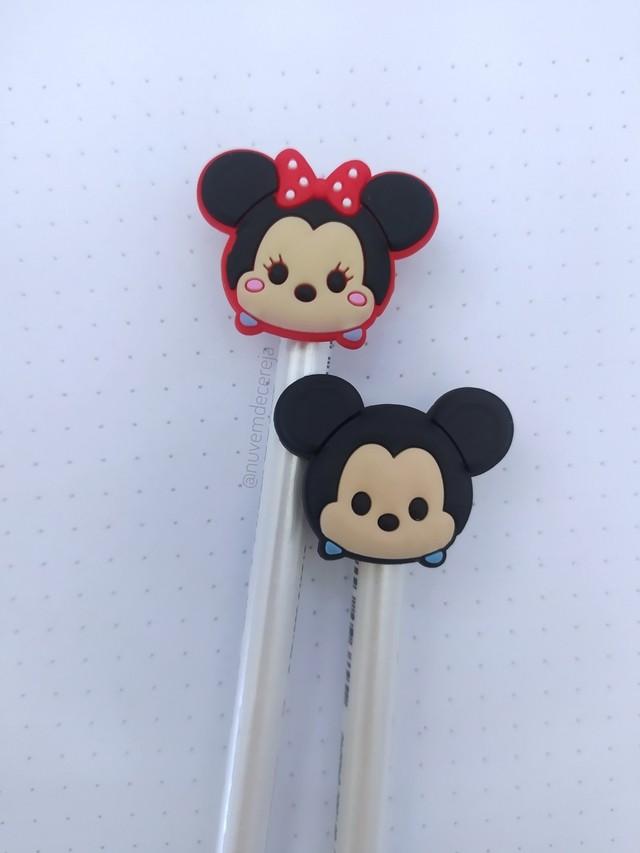 Ponteira Mickey/Minnie  - Nuvem de Cereja