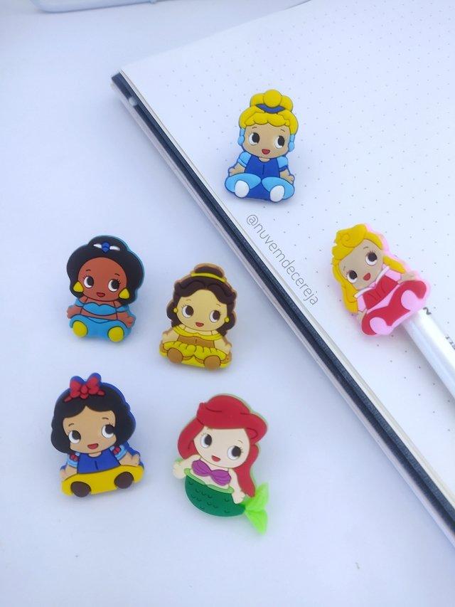 Ponteira Princesas Disney  - Nuvem de Cereja