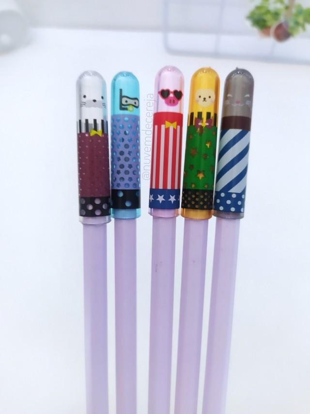 Protetor de pontas para lápis   - Nuvem de Cereja