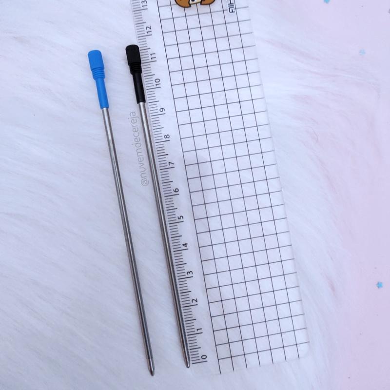 Refil X Caneta Luxo 11,7cm  - Nuvem de Cereja