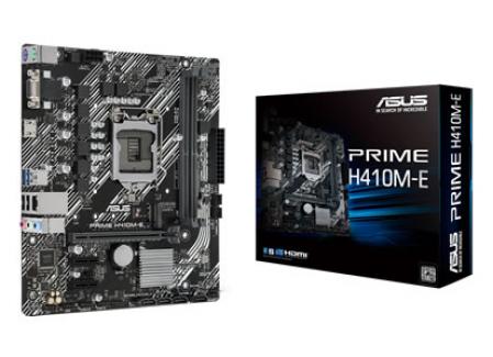ASUS PRIME H410M-E p/ Intel LGA1200 2xDDR4/1xPCI-e/4xSATA/1xM.2
