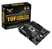 ASUS TUF B360M-PLUS GAMING/BR p/ Intel LGA1151 4xDDR4/1xPCI-e/6xSATA/2xM.2