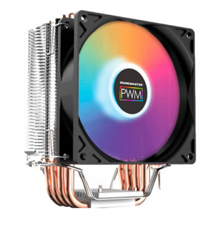 Cooler p/ Intel/AMD GAMING MASTER AC01 RGB (TDP 130W) (115X/1366/20XX/AMD)