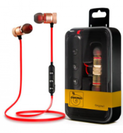 Fone Bluetooth Auricular Esportivo Musica e Atender Ligações - Bluetooth 01