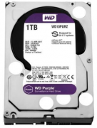 Hard Disk WESTERN DIGITAL PURPLE 1.0TB 5400RPM 64MB SATA 6Gb/s (CFTV/24x7)
