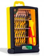 Jogo de Ferramentas de Precisão 32 Peças com Imã e Pinça Exbom - TE-6032A