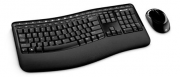 Kit Teclado e Mouse Wireless Comfort Desktop 5050 Ergonômico Microsoft