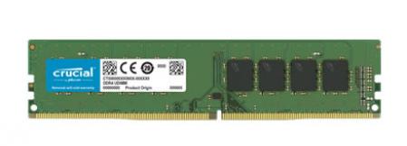 Memória 16GB DDR4 2400MHz/1.2V (PC4-19200) CRUCIAL
