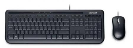 Microsoft Teclado E Mouse Com Fio Desktop 600 Usb Preto CAIXA PARDA - 3J200006