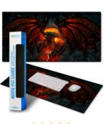 Mouse Pad Gamer Personalizado Extra Grande Exbom - MP-9040A01
