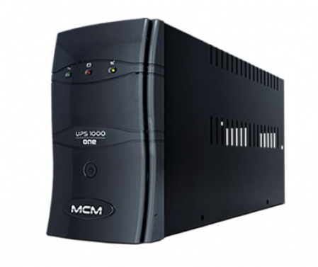 No-Break MCM UPS1000 One 3.1 1000VA (500W) Preto (E:Bi-Aut / S:115V / T:6)