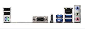 ASROCK A320M-HD p/ AMD AM4 2xDDR4/1xPCI-e/4xSATA/1xM.2