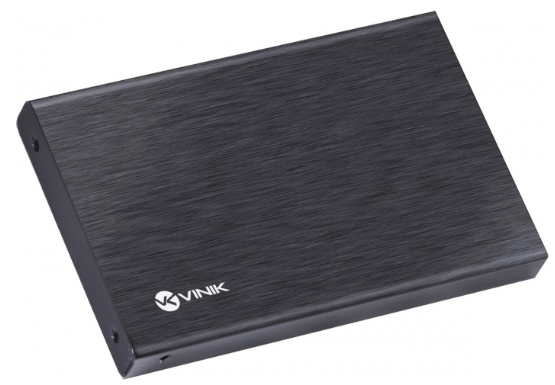 "CASE EXTERNO PARA HD 2.5"" COM USB 3.0 PRETO - CHDA-300 VINIK"