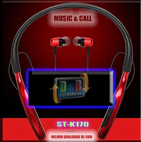 Fone Original Stereo Master St-k170 Sports Bluetooth Headset Wire