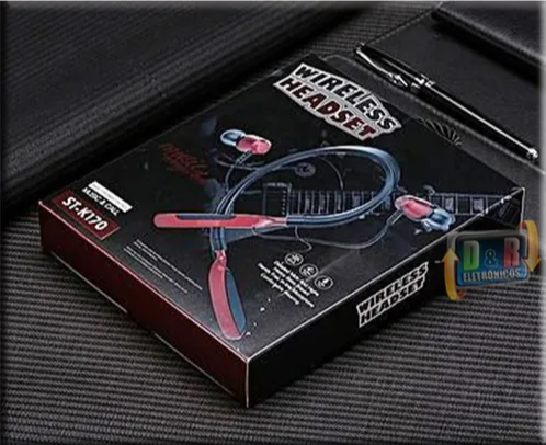 Fone Original Stereo Master St-k170 Sports Bluetooth Headset Wire
