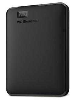 "HD Externo 2,5"" WD Elements Portable 4.0TB USB 3.0 Preto"