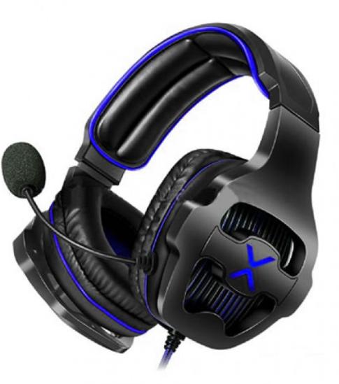 Headset Gamer Usb 7.1 com Led e Controle de Volume Exbom - HF-G650