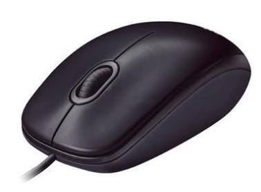 Mouse USB Óptico LOGITECH M90 (1000 DPI) Preto