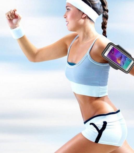 Relógio Inteligente + Braçadeira p/ celular