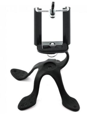 SUPORTE PARA CELULAR SMARTPHONES FLEXÍVEL PRETO - ZMM-01