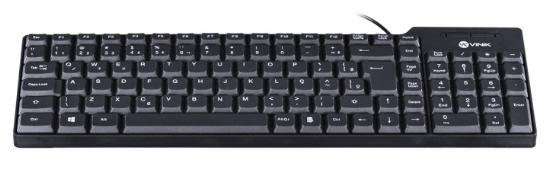 TECLADO COMPACTO USB DYNAMIC ABNT2 1.8M PRETO - DT150 - VINIK