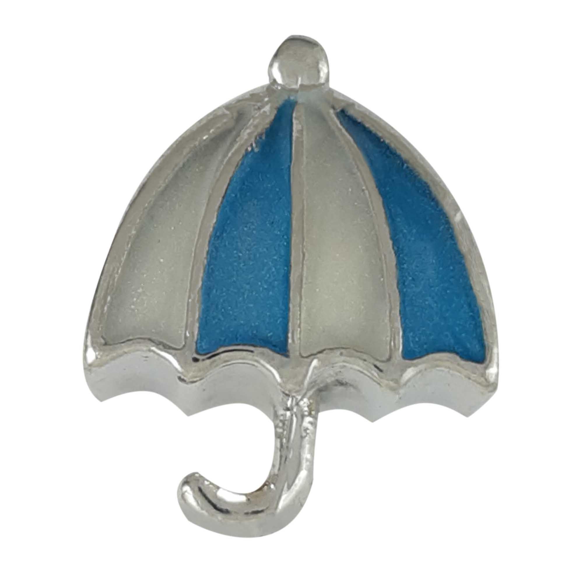 Berloque guarda-chuva em aço
