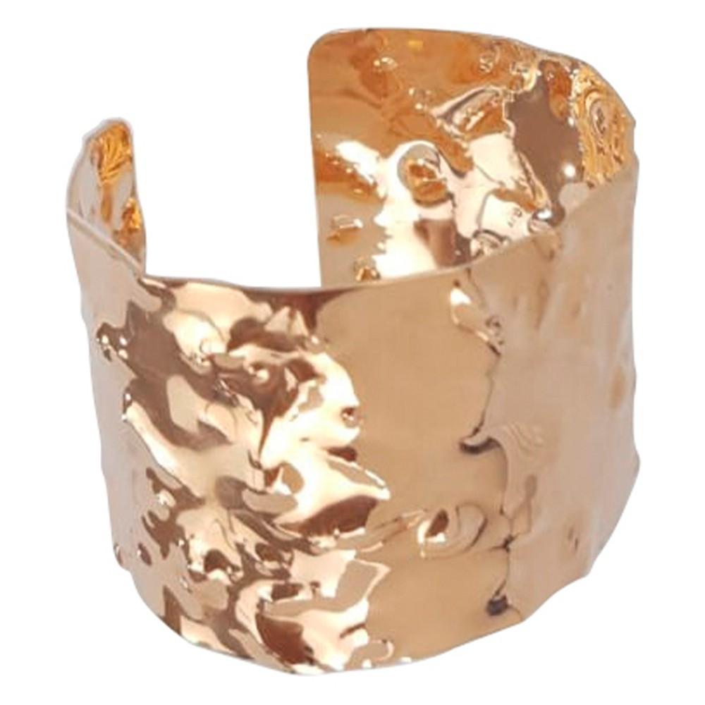 Bracelete africano banhado a ouro 18k