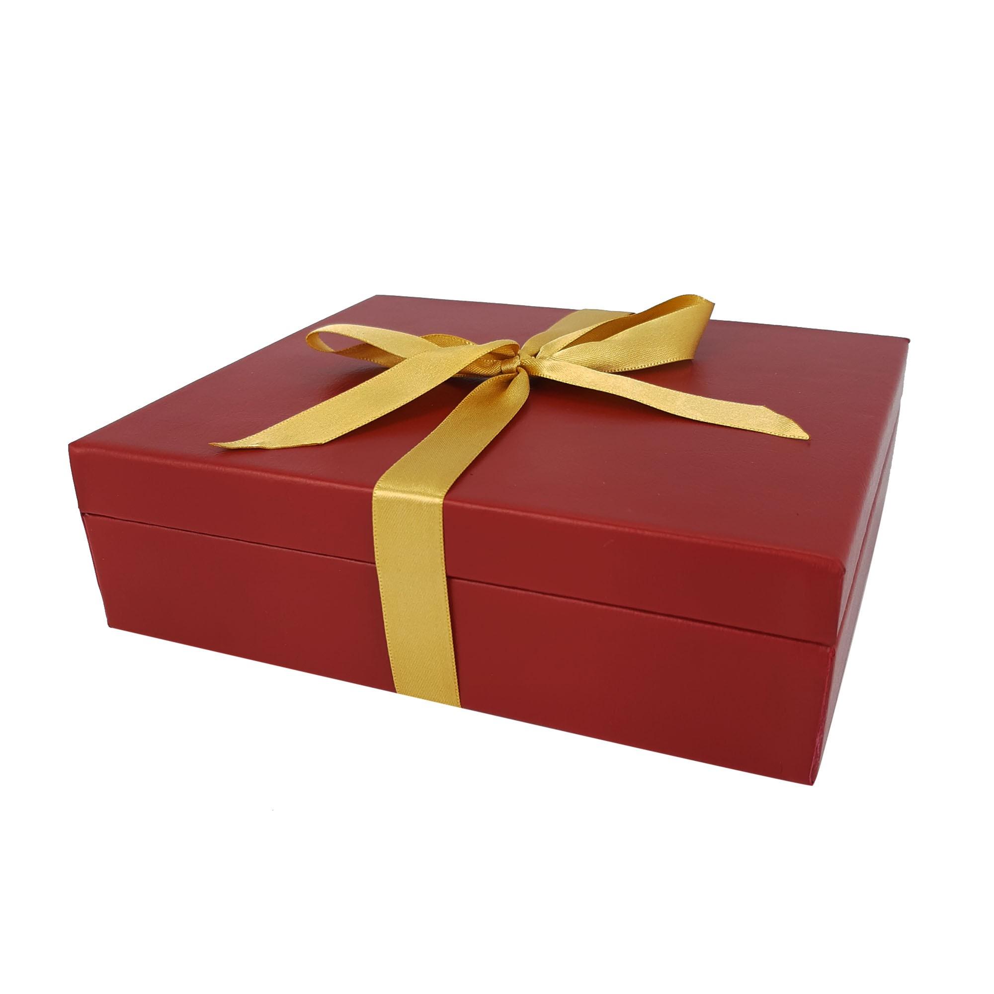 Caixa para presente vermelha grande