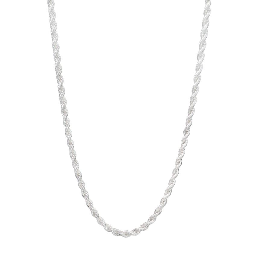 Colar cordão baiano banhado ouro 18k e ródio branco e prata