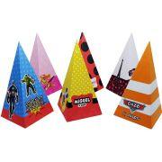 Caixa Piramide Personalizada