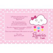Convite 15x10cm Personalizado - Sem envelope