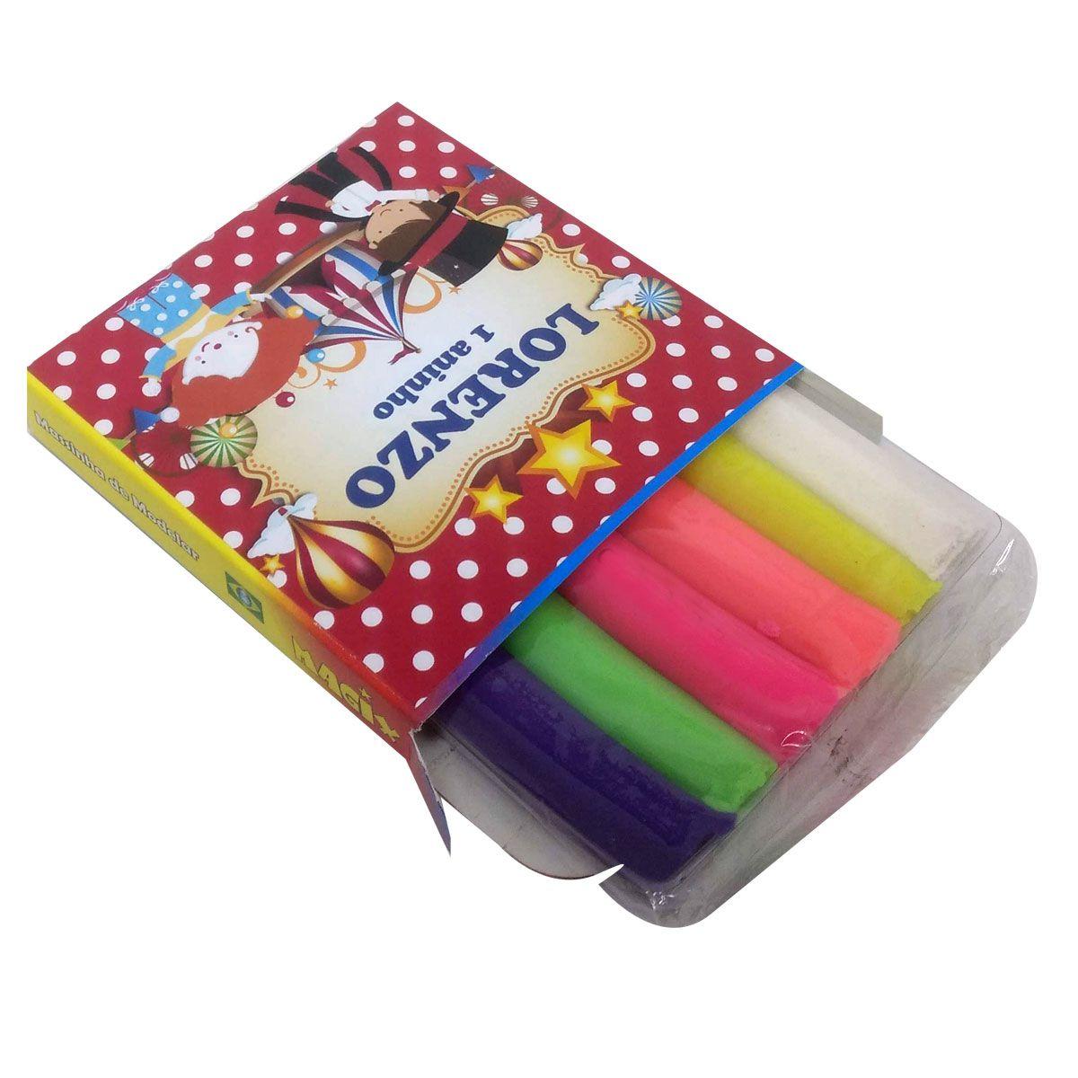 10x Caixa de Massinha Personalizada  - Pacote com 10 unidades