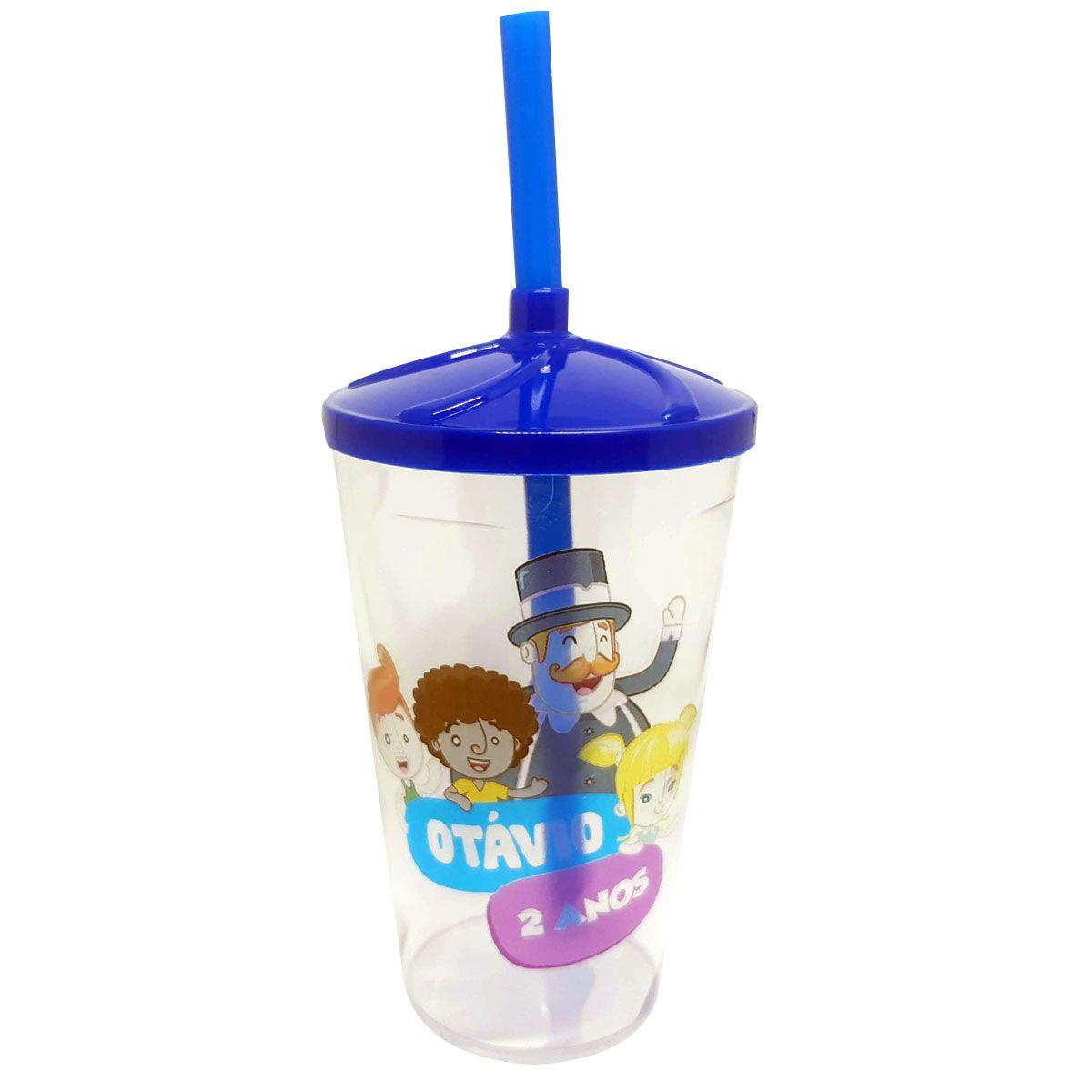 10x Copo Milk Shake Transparente Personalizado 500ml - Pacote com 10 unidades