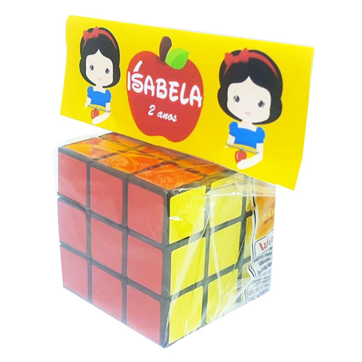 10x Cubo Mágico com Lapela - Pacote com 10 unidades