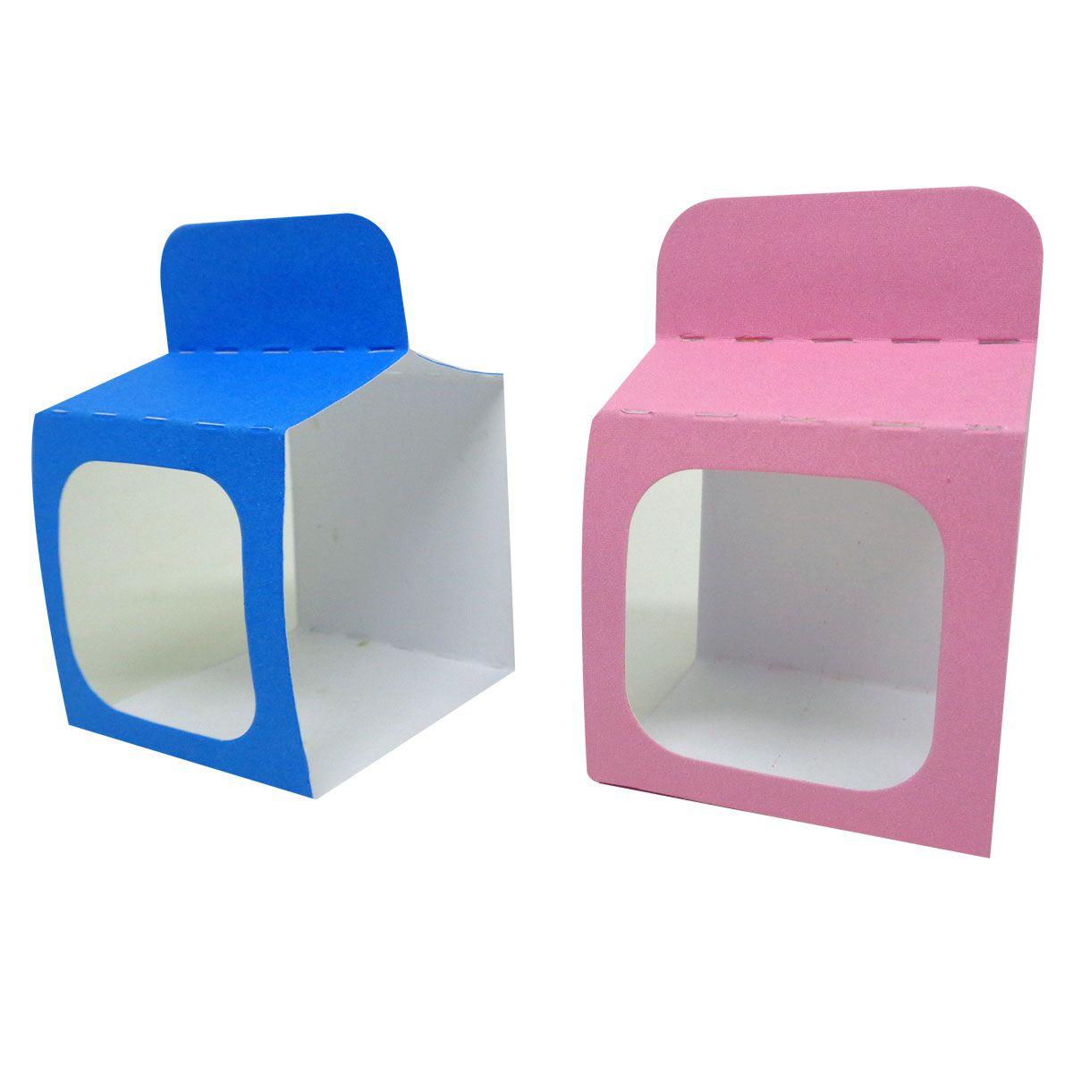 15x Porta Caixas Acrílica Personalizado - Pacote com 15 unidades