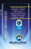 Best Moviment - Composto para recuperação de articulações com 30 Sachês  - Medicanet