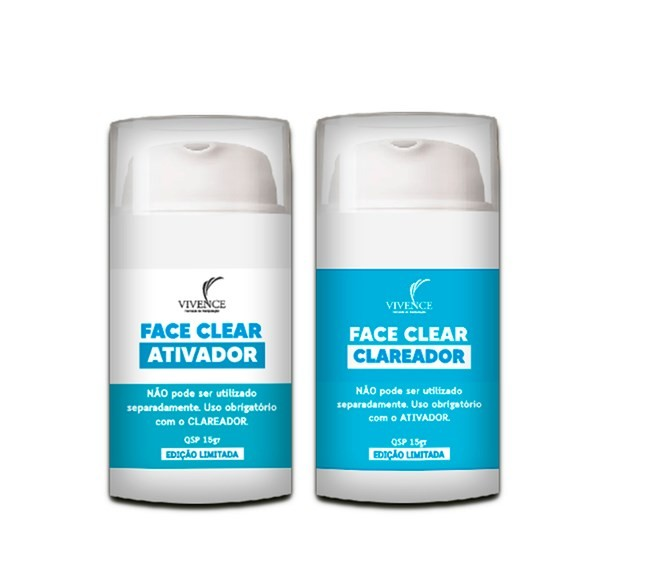 Clareador de pele - Face Clear  - Medicanet