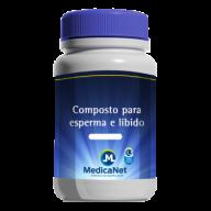 COMPOSTO PARA ESPERMA E LIBIDO 30 DOSES  - Medicanet