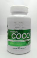 Óleo de Côco com 60 cápsulas  - Medicanet