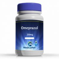 Omeprazol 20mg em cápsulas - Combate a dor estomacal  - Medicanet