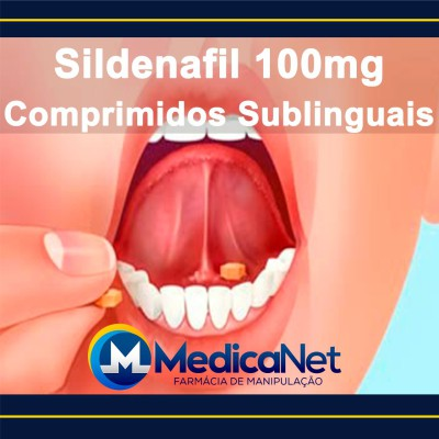 Sildenafil 100mg, comprimidos sublinguais  - Medicanet