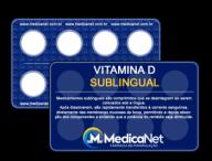 Vitamina D Sublingual 1000UI  - Medicanet