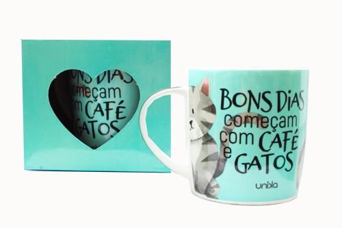 CANECA CAFÉ E GATOS