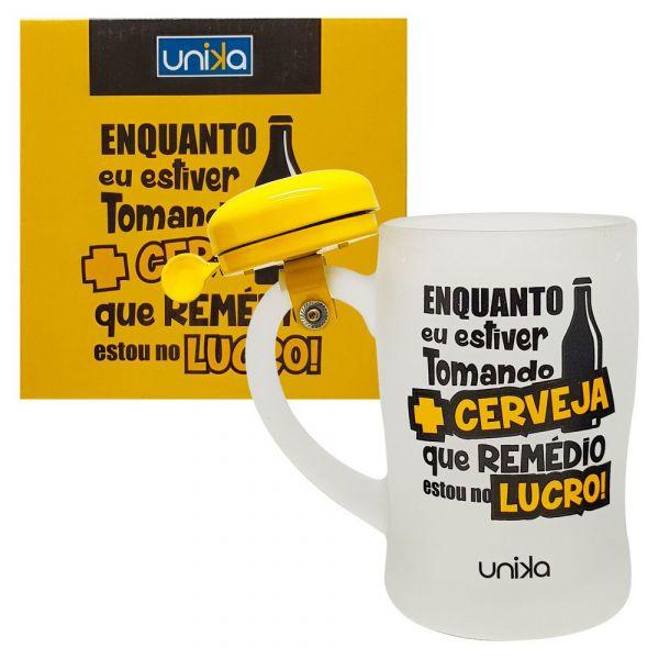 CANECA CAMPAINHA LUCRO 400ML