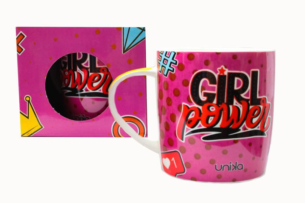 CANECA CERAMICA GIRL POWER 390 ML