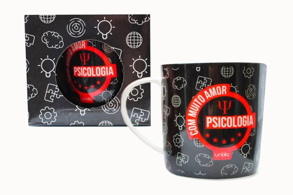 CANECA CERAMICA PSICOLOGIA 390 ML