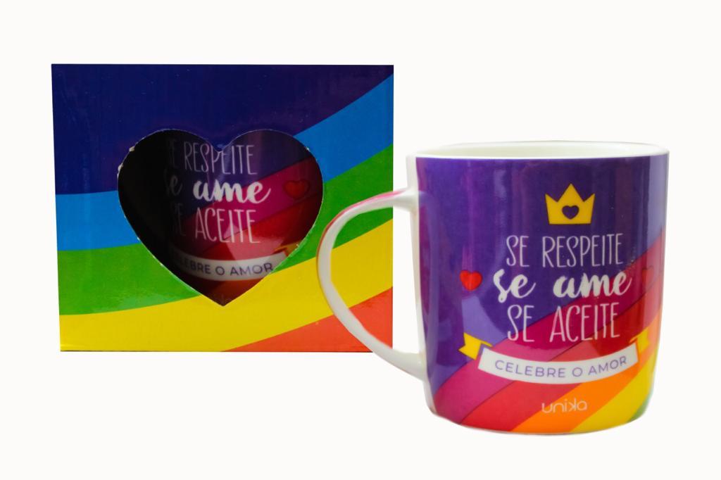 CANECA CERAMICA SE RESPEITE 390 ML
