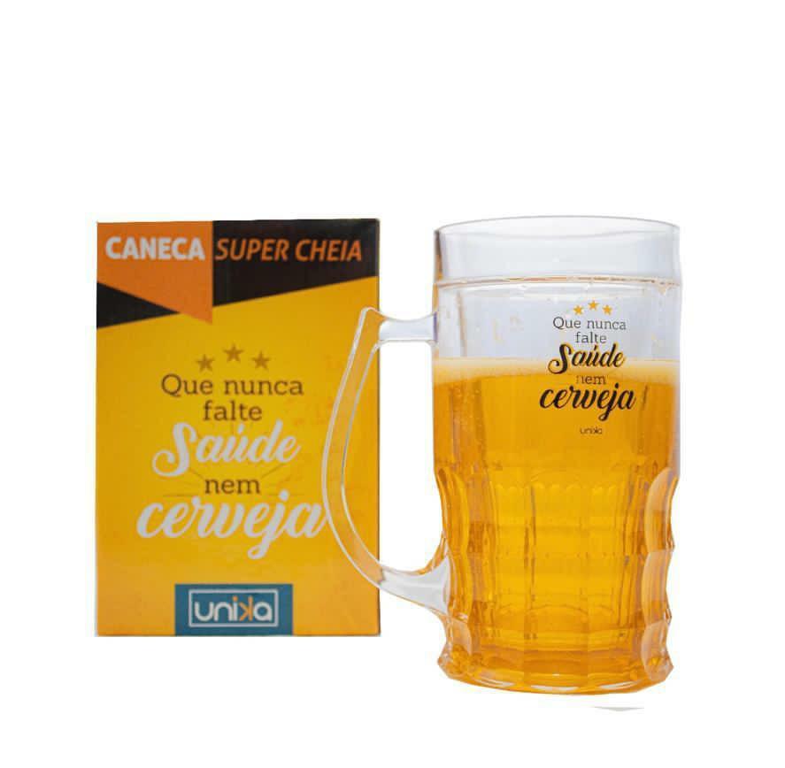 CANECA SUPER CHEIA SAUDE 600ML