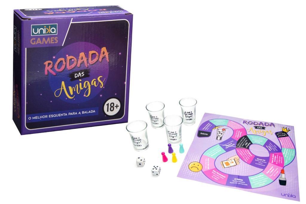 JOGO DAS AMIGAS C/4 SHOTS